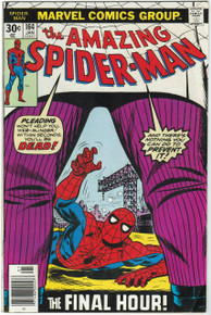 Amazing Spider Man #164 FN Front Cover
