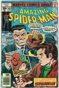 Amazing Spider Man #169 GD Front Cover