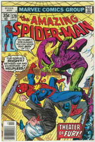 Amazing Spider Man #179 VF Front Cover