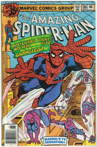 Amazing Spider Man #186 FN Front Cover