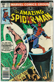 Amazing Spider Man #211 VG