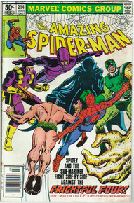 Amazing Spider Man #214 F
