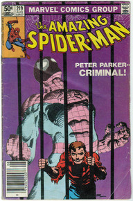Amazing Spider Man #219 VG