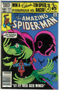 Amazing Spider Man #224 VF