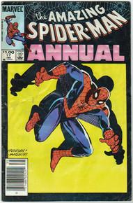 Amazing Spider Man Annual #17 GD