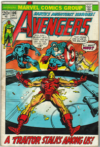 Avengers #106 VG