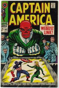 Captain America #103