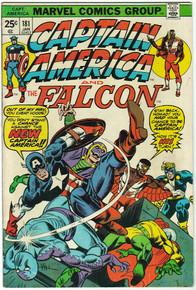 Captain America #181 FN