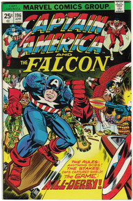 Captain America #196 VF/NM