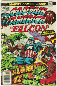 Captain America #203 FN