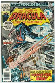 Tomb of Dracula #57 Very Fine