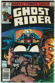 Ghost Rider #58 FN Front Cover