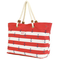 Brakeburn Anchor Beach/Tote Bag Front with rope handles