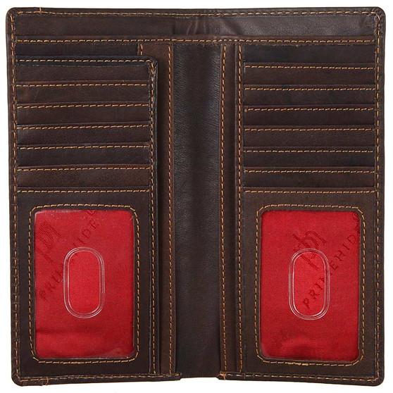 Prime Hide 2008 Large Jacket Wallet Open