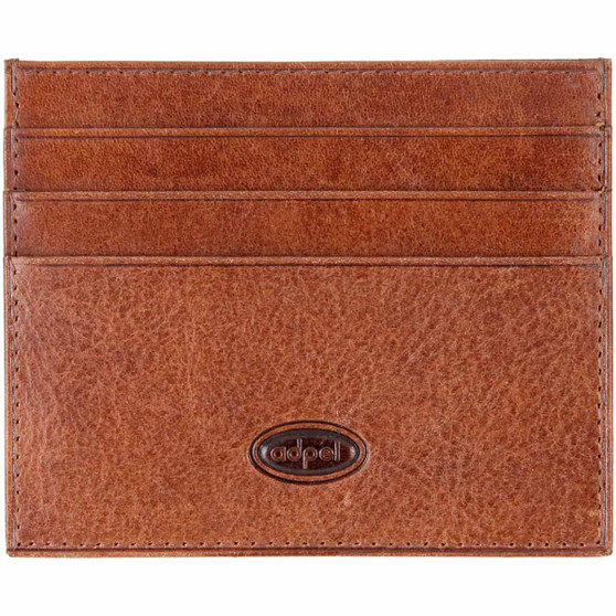 Adpel credit card weekend wallet 572T chestnut front