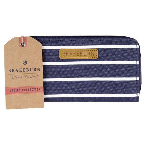 Brakeburn Striped Zip Round Purse S17 : Front with Tag