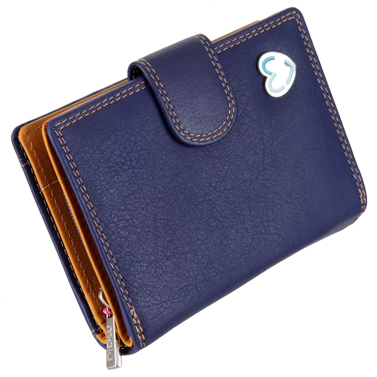 Wallet Purse with RFID Protection : Navy Tabitha 3118