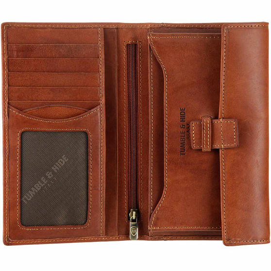 Tumble and Hide Breast Pocket Wallet : Main Image
