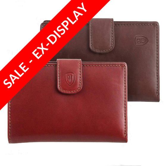 Tumble & Hide Ital ian LeatherTab Purse 1263 THV (Sale)