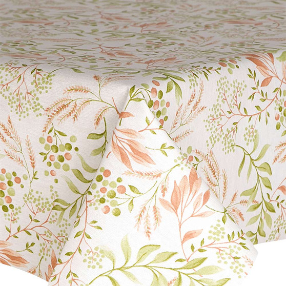 Prestons Wipe Clean Acrylic Coated Tablecloth : Loneta Forest Floor