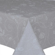 Prestons Wipe Clean Acrylic Coated Tablecloth : Loneta Stencil Leaf