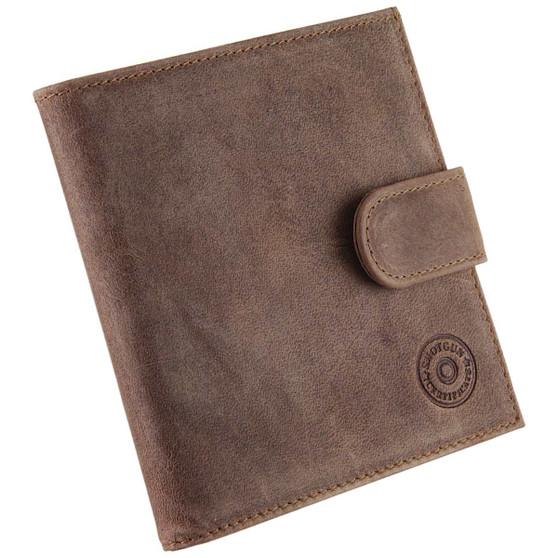 shotgun certificate wallet single oiled leather