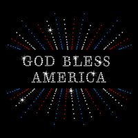 God Bless America Rhinestone Transfer