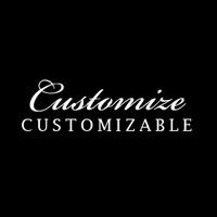 Custom Stacked Text Rhinestone Iron On Transfer