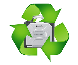 Trade in your old Panasonic Toughbooks for credit towards our products or services