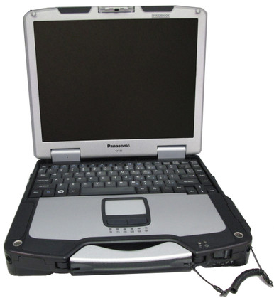 Refurbished fully-rugged Panasonic Toughbook CF-30 refurbished by Telrepco