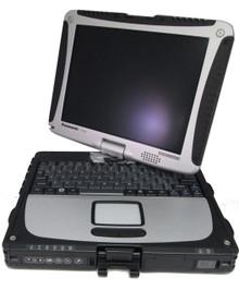 Refurbished fully-rugged Panasonic Toughbook CF-19 fully refurbished by Telrepco.