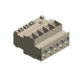Siemens AGG5.720 Standard connector, for LMV5 syste