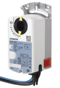 Siemens GDB164.1E, S55499-D268 Rotary air damper actuator