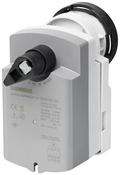 Siemens GQD161.9A rotary actuator for ball valves with spring-return