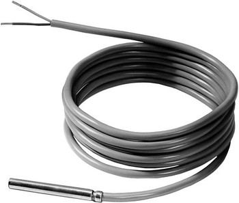 Cable temperature sensor PVC 2 m, LG-Ni1000 For installation in fan coils, terminal units and induction units.