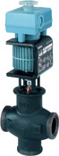 MXG461.15-1.5 mixing 2-port magnetic control valve