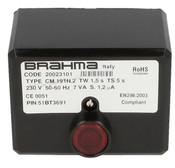 Gas burner control unit CM 191.2 Brahma 20023101