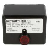 Gas burner control unit SM 191.2 Brahma 24083301
