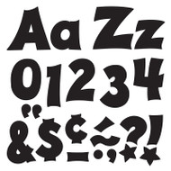 BLACK 4IN COMBO PACK UPPERCASE