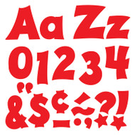 RED 4IN COMBO PACK UPPERCASE