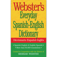 WEBSTERS EVERYDAY SPANISH ENGLISH