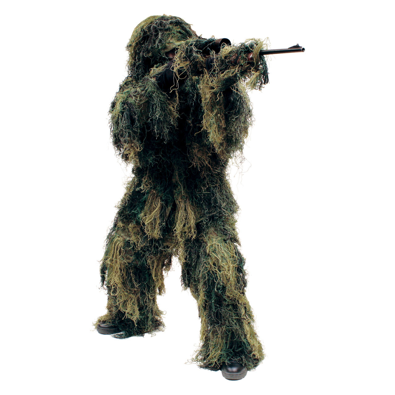 66098396e657e 5-Piece Adult Camo Ghillie Suit - Camouflage - Red Rock Outdoor Gear