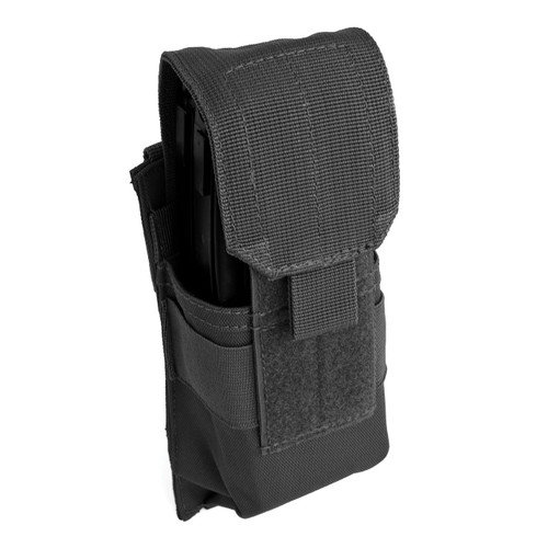 Single Rifle Mag Pouch - Black