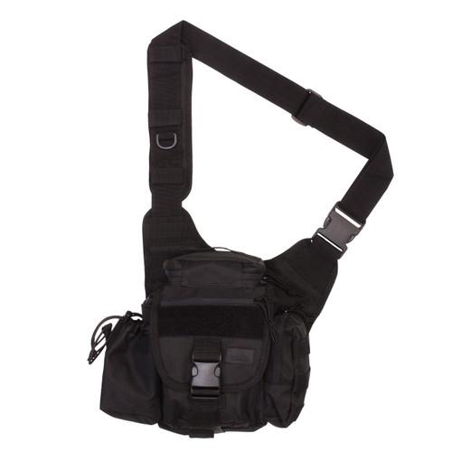 Hipster Sling Bag - Black