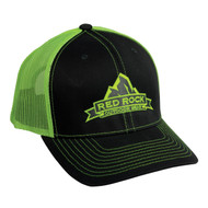 Cap - Black with Neon Green mesh