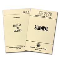 2-Book Set - First Aid/Survival