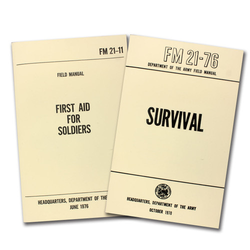 2-Book Set - First Aid/Survival