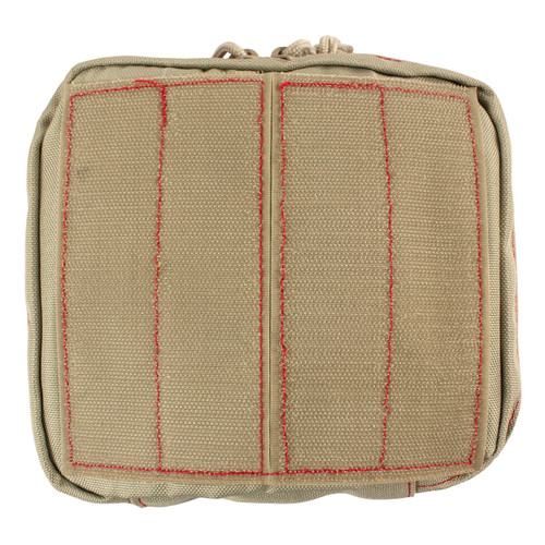 82-505AL Shallow Mesh Window Pouch Back