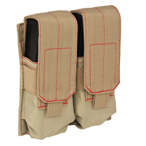 82-538AL Double Rifle Mag Pouch Front