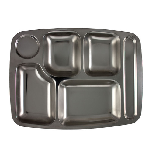 6-Compartment Food Tray